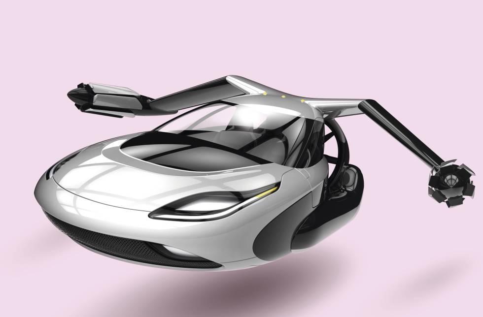 Motor futuro Los coches ya vuelan
