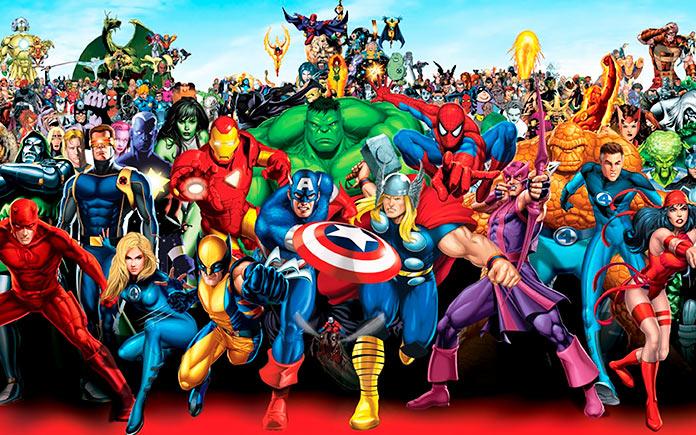 Esto es lo que pasaría si los superhéroes envejecieran. Ilustraciones de Lesya Guseva